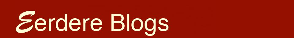 Eerdere Blogs